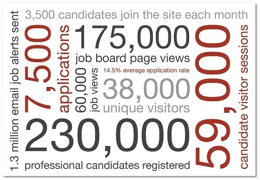 CareersinAudit.com key stats 2020