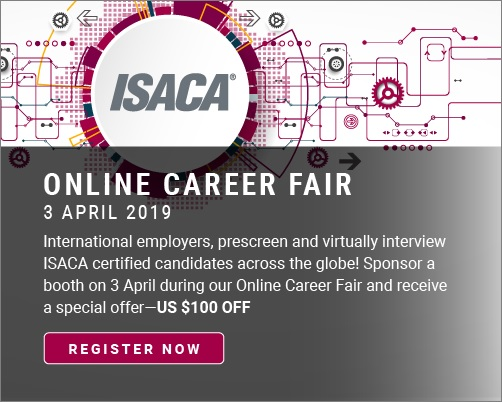 ISACA Career Fair - Feb19